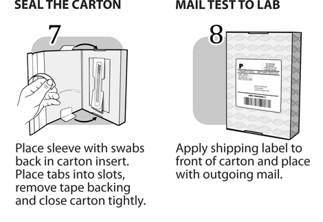 Wisdom Panel Instructions Steps 7-8